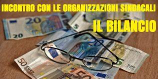 incontro delle organizzazioni sindacali: il bilancio