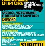sciopero medici 23.11
