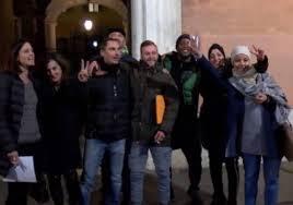 Italpizza, lavoratori dopo l'accordo raggiunto, LaPressa.it