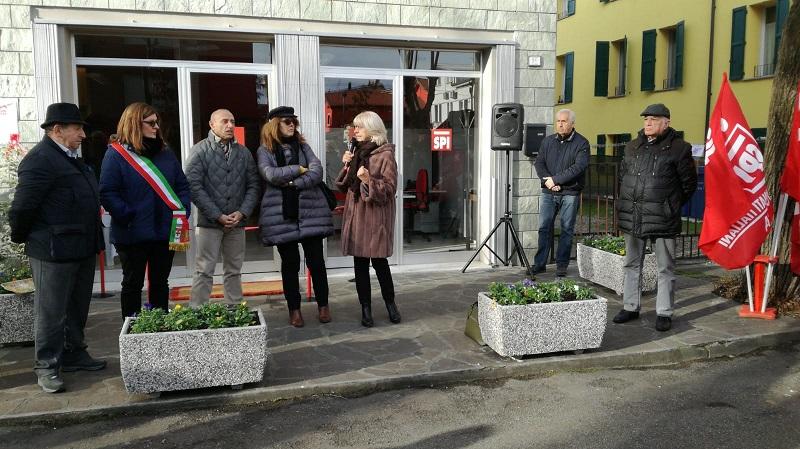 sede Cgil Camposanto, 10.12.18