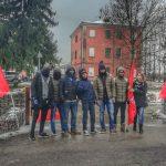 manifestazione azienda agricola La Fenice, 20.12.18