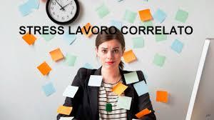 stress lavoro