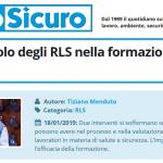 PuntoSicuro: quale è il ruolo degli RLS nella formazione dei lavoratori?