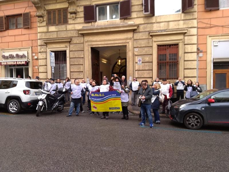 delegazione sinagi a Roma, 28.1.19