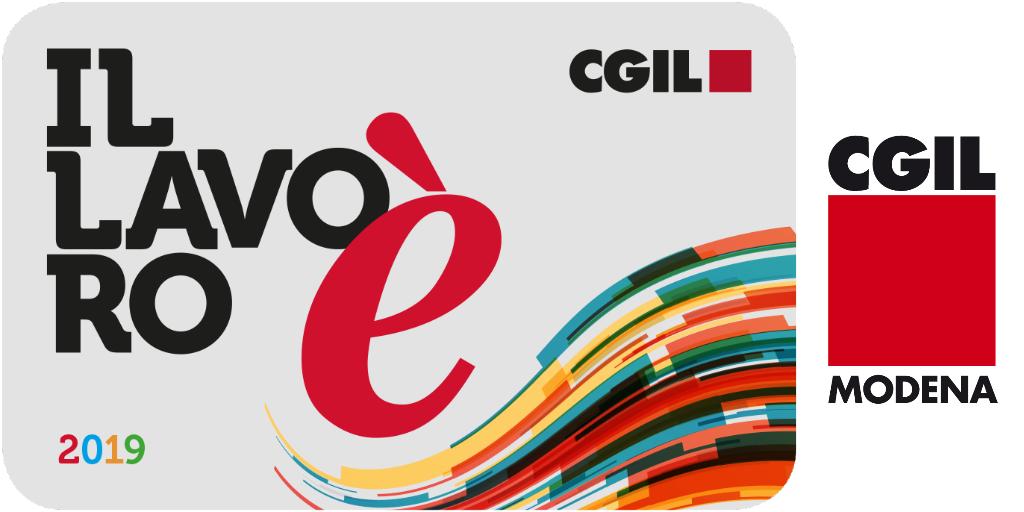 Tessera Cgil 2019 - Logo Cgil Modena