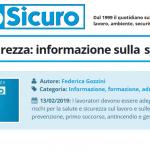 PuntoSicuro: informazioni sulla sicurezza