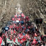 Futuro al lavoro - corteo manifestazione Cgil, Cisl,Uil - 9 febbraio 2019