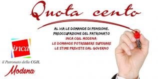 Quota 100, le perplessità del Patronato Inca Cgil di Modena
