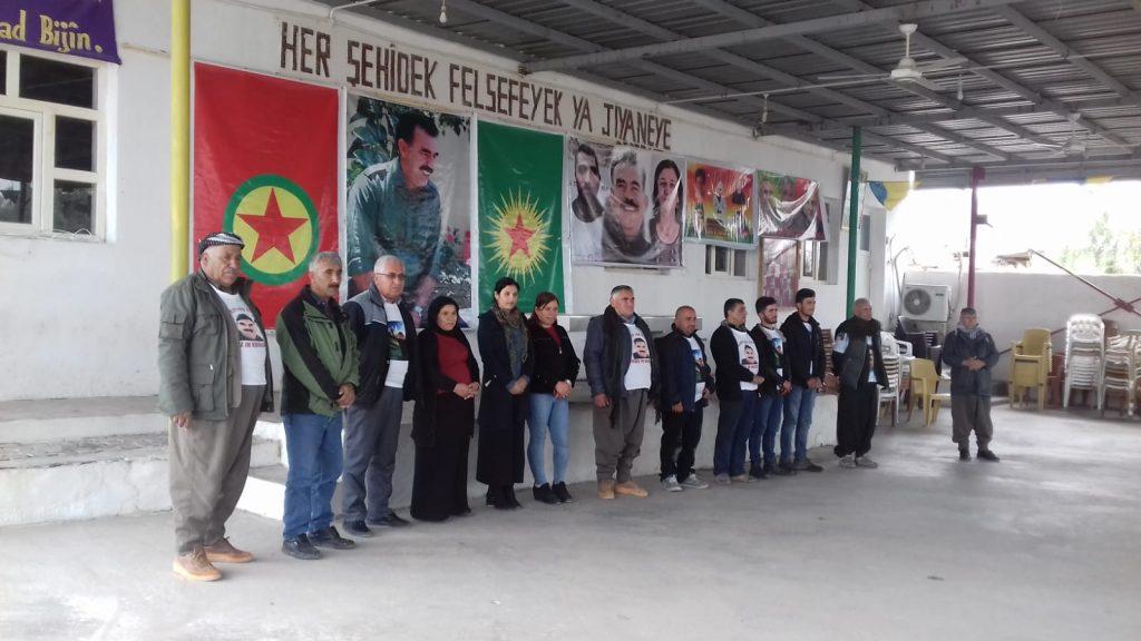 Kurdi nel campo profughi Makmhura in sciopero della fame, 16.3.19