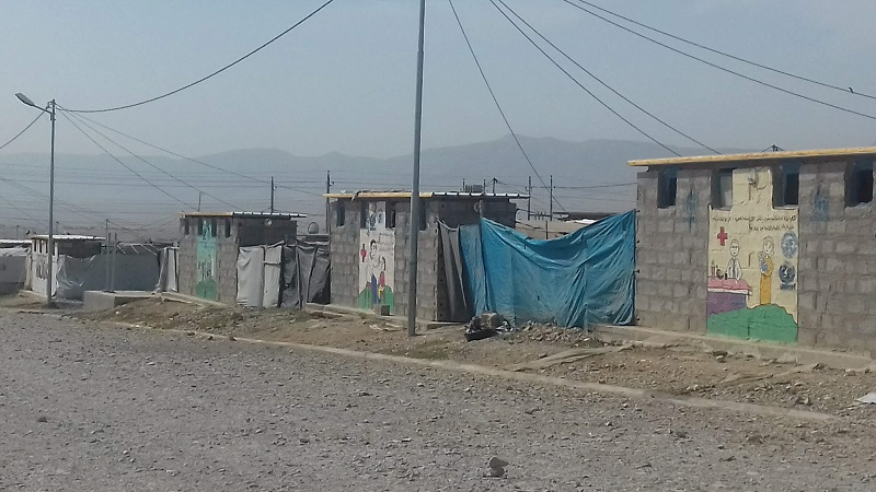 campi profughi kurdi Nord Iraq, ottobre 2018