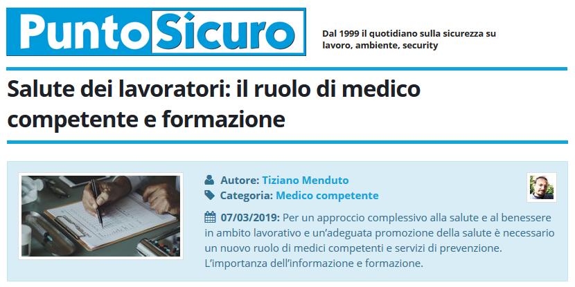 Salute Dei Lavoratori Il Ruolo Di Medico Competente E Formazione Cgil Modena