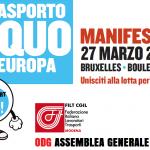 27.3 Bruxelles trasporto equo in Europa, 27.3.19