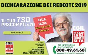 Csc - Caaf Cgil Modena - Campagna fiscale 2019