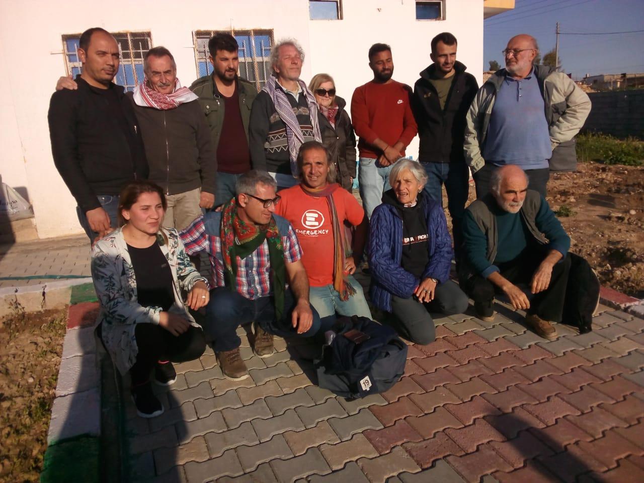 delegazione verso il Kurdistan presso centro assistenza handicap campo profughi, 21.3.19