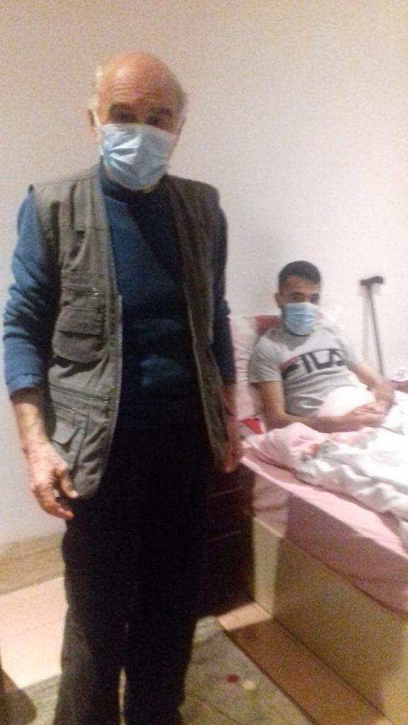 visita a Nasser 26 anni da 117 giorni in sciopero della fame, 17.3.19
