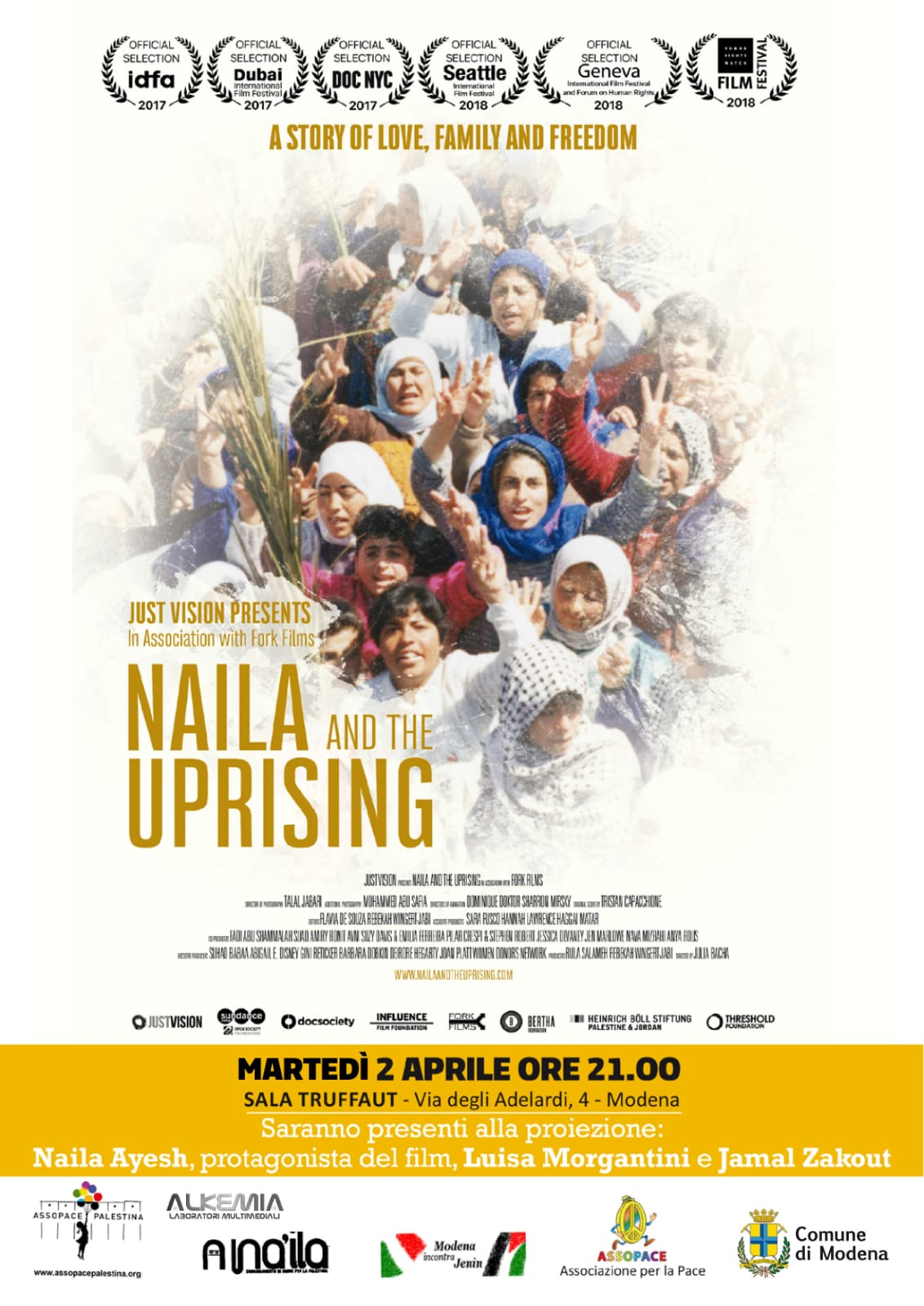 Naila and the Uprising, Modena 2.4.19