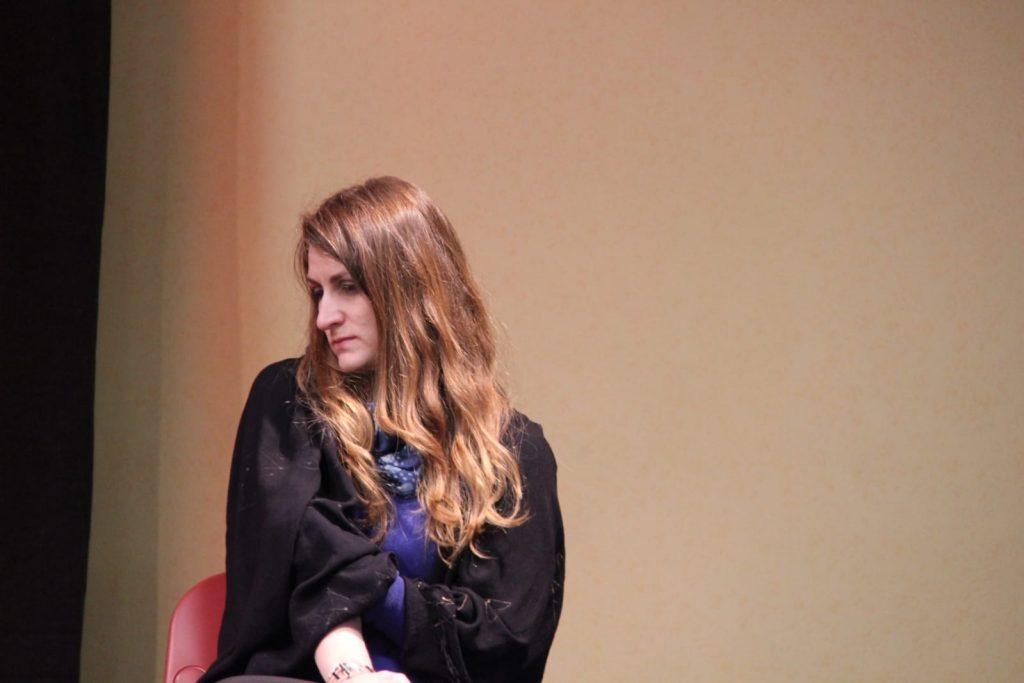 Dita di Dama+tav. rotonda protagonismo donne, Assemblea Generale Fiom Modena 5.3.19