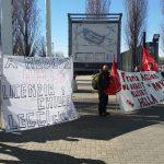protesta frama madeexpo milano, 15.3.19