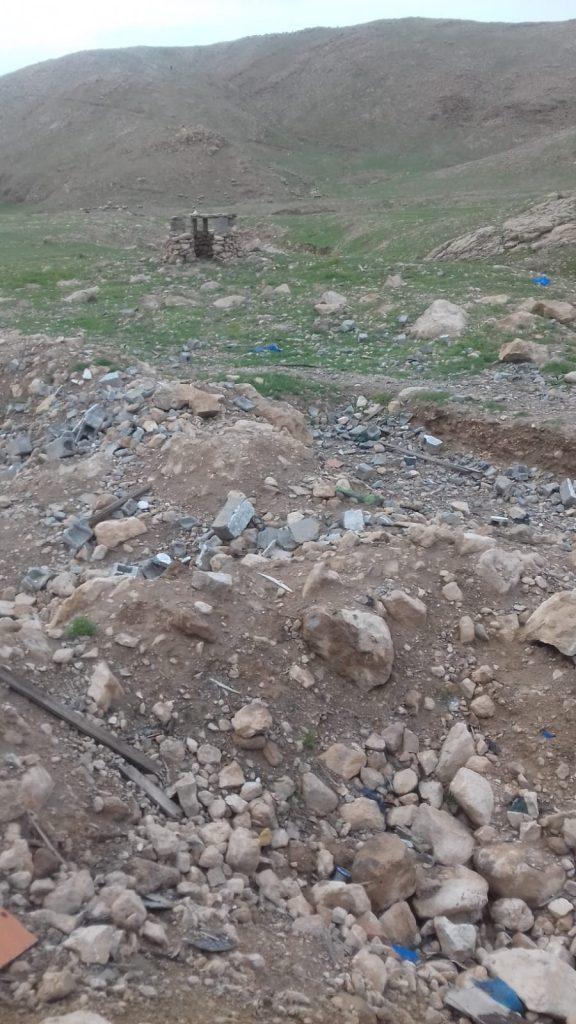 distruzioni bombardamenti territorio kurdo