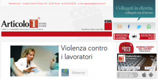 Radioarticolo1 - Violenza contro i lavoratori