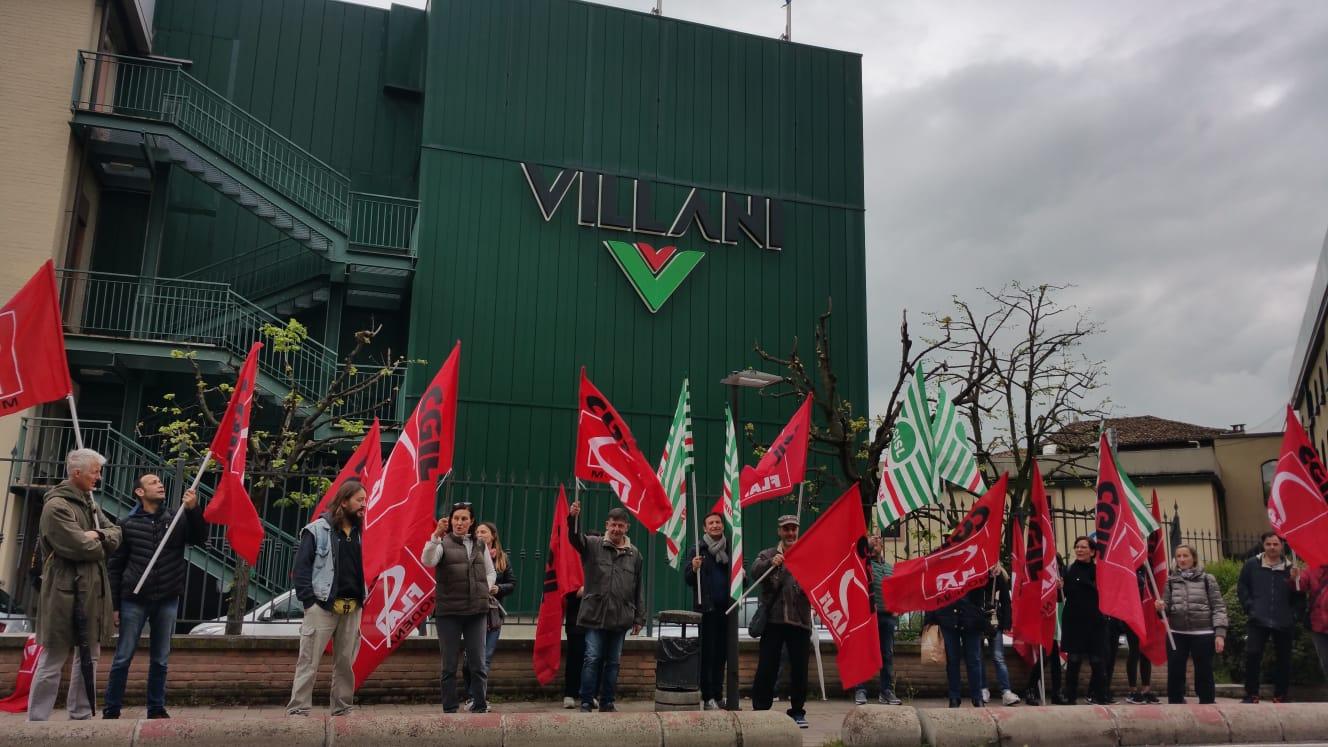 sciopero Villani 12.4.19