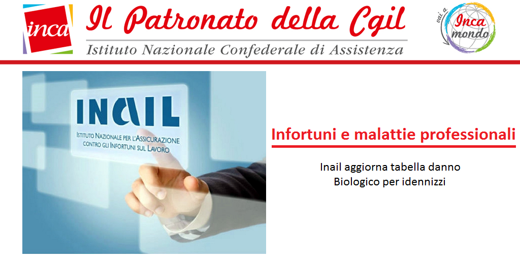 Patronato Inca Cgil Nazionale - Infortuni e malattie professionali