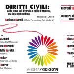 Diritti civili dalla legge di divorzio al Pride di Modena - 2019