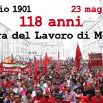 23 maggio 2019, la Camera del Lavoro di Modena compie 118 anni