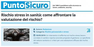 PuntoSicuro - Rischio stress in sanità: come affrontare la valutazione del rischio?