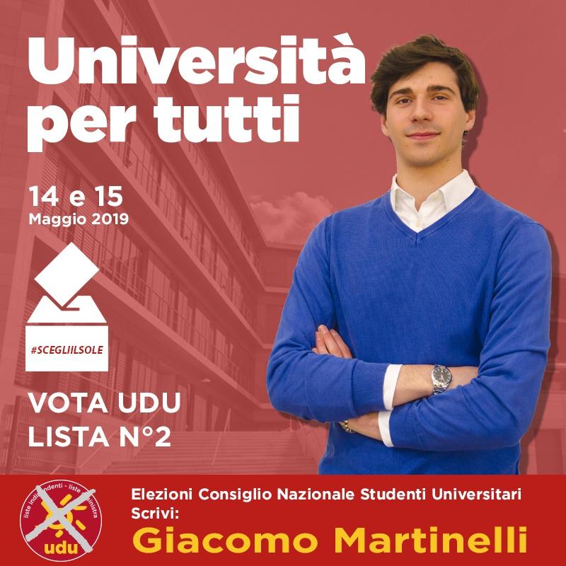 Giacomo Martinelli Udu
