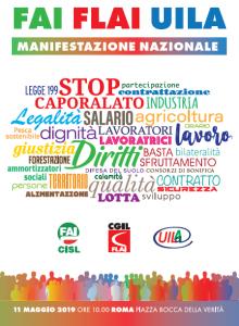 manifestazione nazionale agroindustria 11.5.19