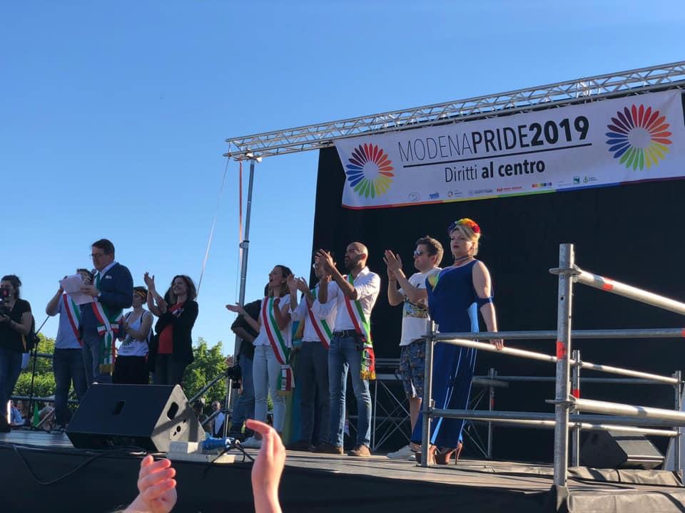 Irene Guadagnini Pride Modena 1.6.19