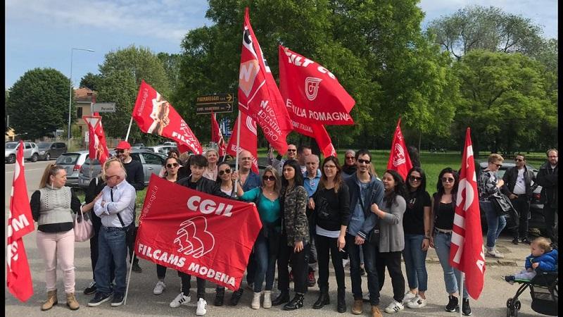 sciopero appalto Parmareggio