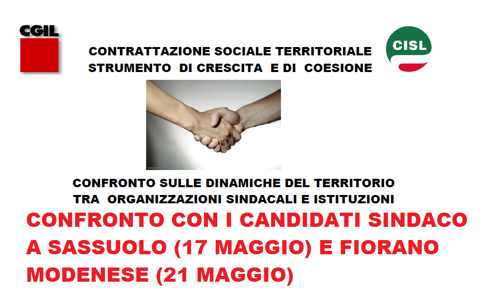candidati sindaco Sassuolo, Fiorano Modenese