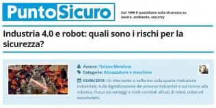PuntoSicuro - Industria 4.0 e robot: quali sono i rischi per la sicurezza?