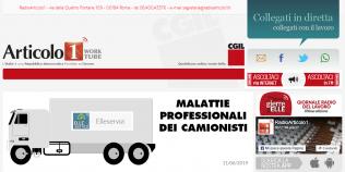 Radioarticolo1 - Malattie professionali dei camionisti
