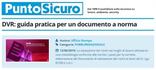 PuntoSicuro - DVR: guida pratica per un documento a norma