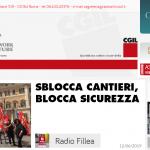 Radioarticolo1 - Sblocca cantieri, blocca sicurezza