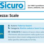 PuntoSicuro - Pillole di sicurezza: Scale