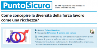 PuntoSicuro - Come concepire la diversità della forza lavoro come una ricchezza?
