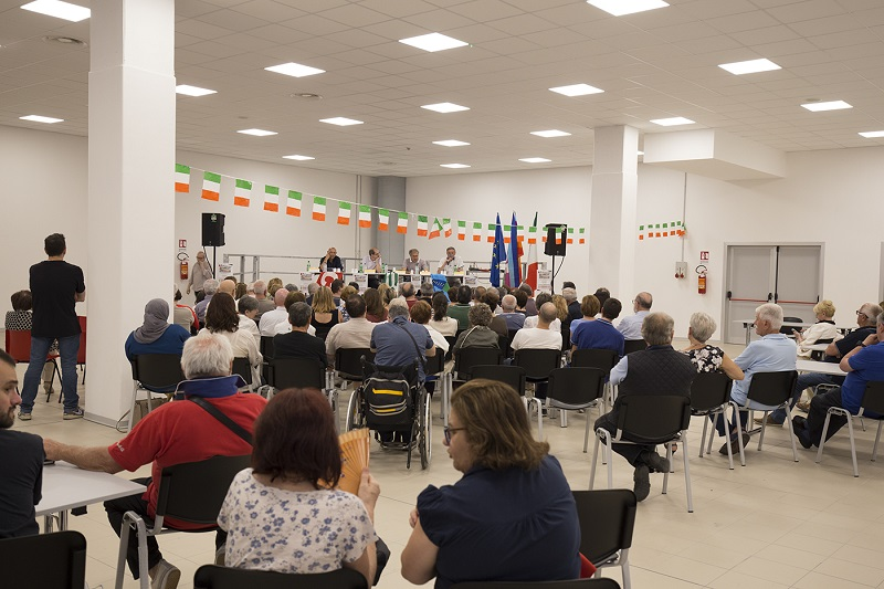 confronto candidati sindaco ballottaggio Mirandola 9.6.19