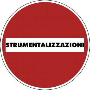 Stop strumentalizzazioni