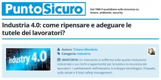 PuntoSicuro - Industria 4.0: come ripensare e adeguare le tutele dei lavoratori?
