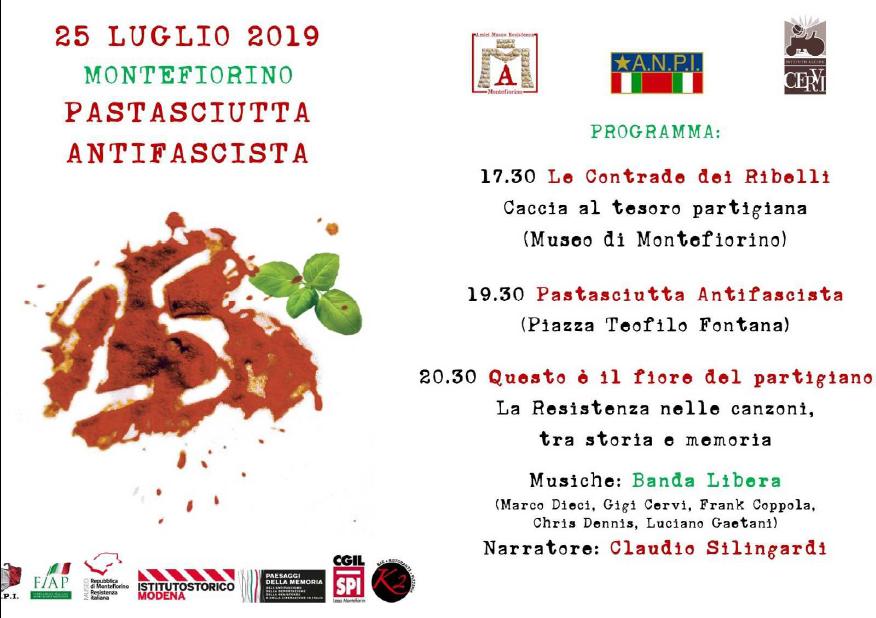 pastasciutta antifascista Montefiorino