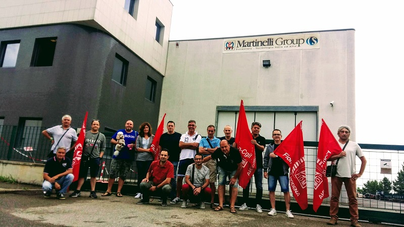 Martinelli Ettore Srl Sassuolo presidio 15.7.19