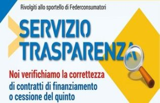 servizio trasparenza federconsumatori emilia romagna