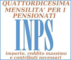 pensionati 14^ mensilità Inps