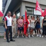 presidio lavoratrici appalto Bellentani di Vignola presso l'Ispettorato del Lavoro di Modena
