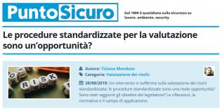 PuntoSicuro - Le procedure standardizzate per la valutazione sono un'opportunità?