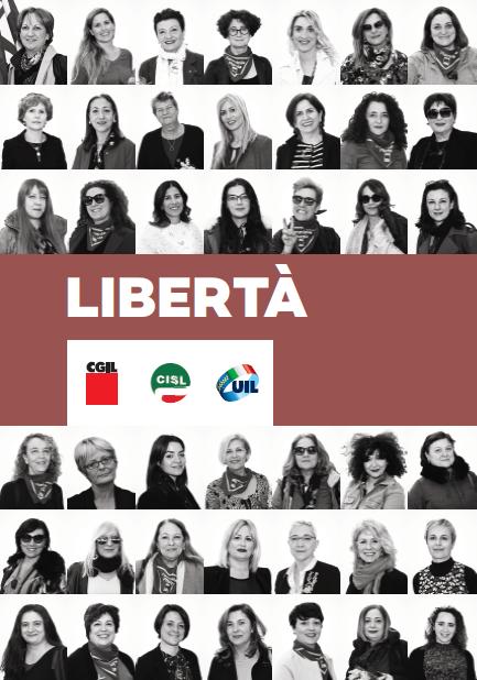 (1) Libertà, donne cgil cisl uil